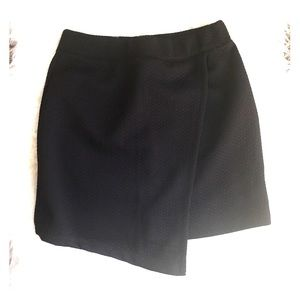 Bershka Black wrap skirt